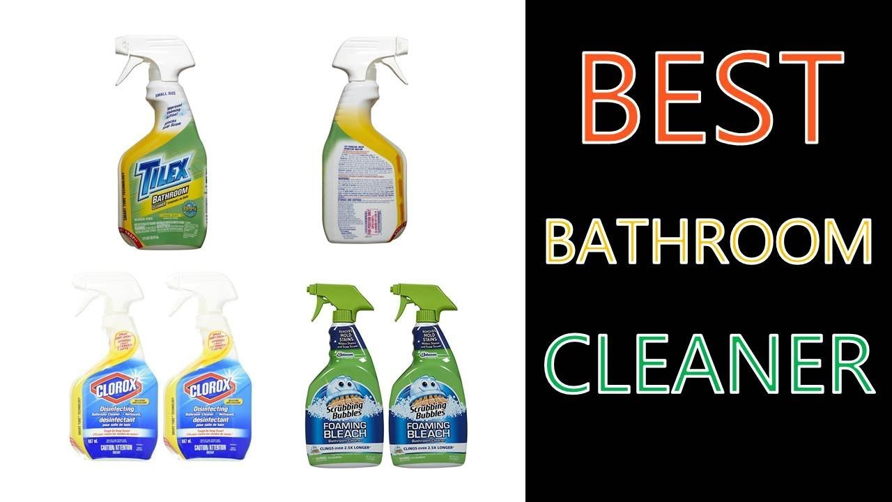 Best Bathroom Cleaner 2018