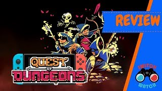Quest of Dungeons Switch Review (Video Game Video Review)