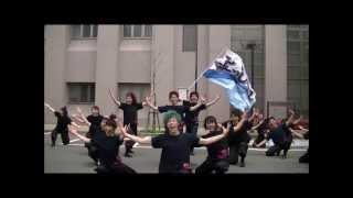福井大学よっしゃこい2013年度演舞「夢光咲」と書いて「むこうへ」の福...
