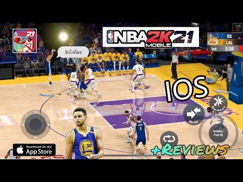 NBA 2k21 Arcade Edition mobile  เกมส์บาสมือถือที่สวยที่สุดในยุค 2021 !! รีวิว Thai