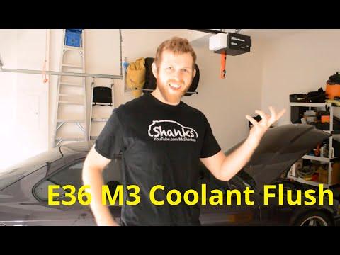 E36 M3 Track Prep: Coolant Flush