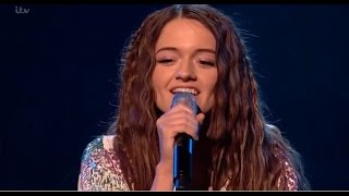 Emily Middlemas: SHOCKS Everybody With The Chainsmokers 'Closer' | Live Shows | The X Factor UK 2016