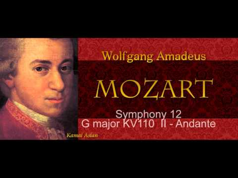 Mozart Symphony No 12 complete