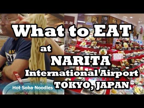 What To EAT at NARITA International Airport, Tokyo Japan