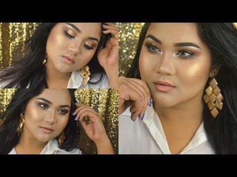 Bronze Gold Smokey Eye | EID Makeup Tutorial 2018 | Raisa Naushin