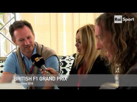 Christian Horner Karaoke Interview at Silverstone 2016
