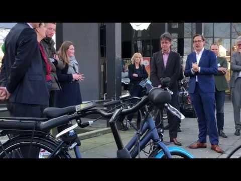 E-bikes uitgedeeld aan spitsmijdende studenten