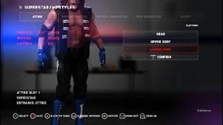 AJ Styles Aşırı Kuralları 2018 Kıyafetleri Nasıl 2K18 WWE: