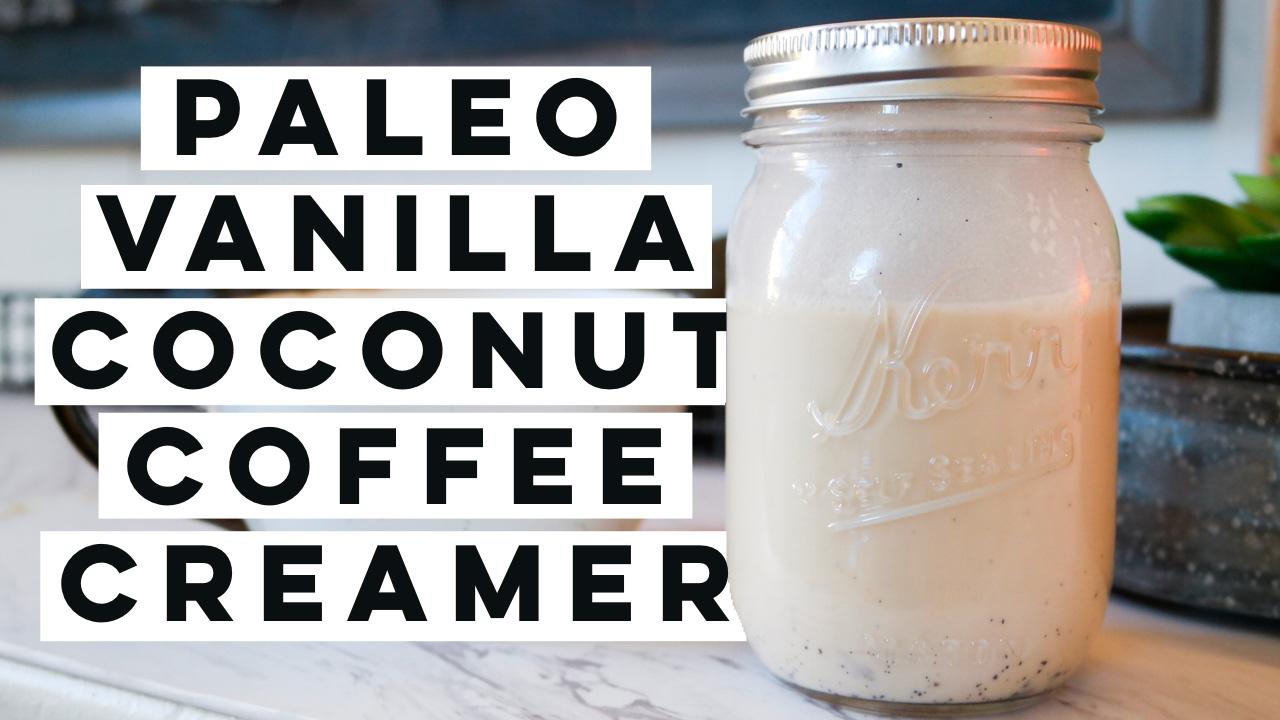 Paleo Vanilla Coconut Coffee