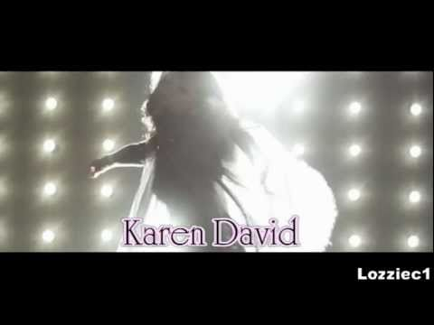 Karen David  Can't stop the rain from falling