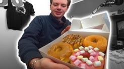 8 verschiedene Donuts Online bestellt  🍩