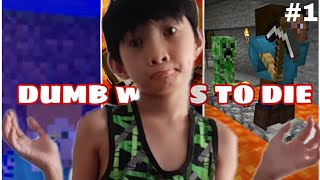 (MINECRAFT) THE DUMB WAYS TO DIE MAP EP1!!
