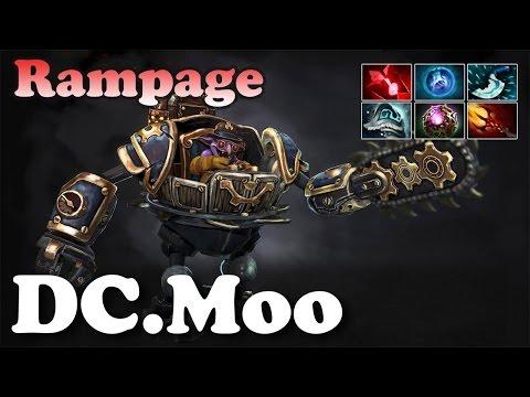 DC.Moo Timbersaw Rampage - The Timbersaw Beast of TI6 - Dota 2 Highlight