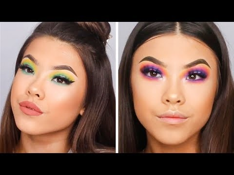 8 COLORFUL EYE MAKEUP TUTORIALS FOR MAKEUP LOVERS