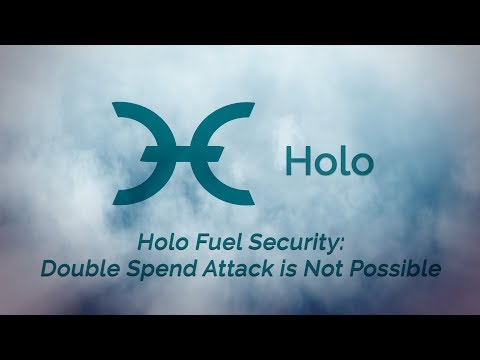 Holo Fuel Security: Double Spend Attack is Not Possible