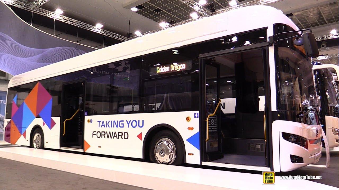 2020 Golden Dragon Pivot E12 Electric City Bus Walkaround - Exterior Interior Tour