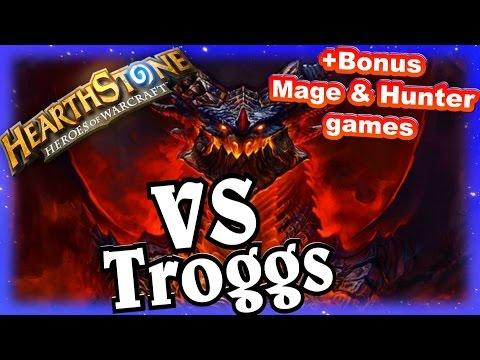 Deathwing VS Troggs ~ Hearthstone Heroes of Warcraft Blackrock Mountain ~ Priest Decklist