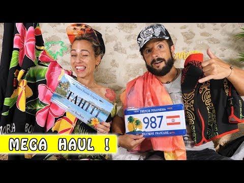 MEGA HAUL de Tahiti/Moorea et SURPRISE !...