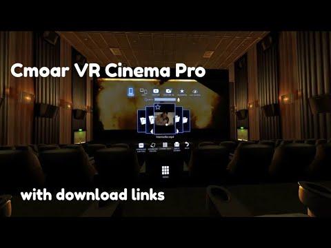 Cmoar VR Cinema Pro || Best VR || Theatre App