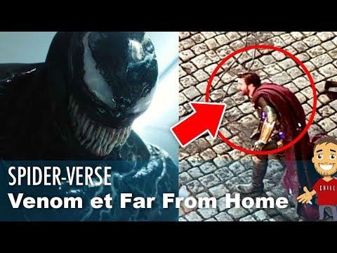 Scènes POST-CRÉDITS VENOM ! VISUEL MYSTERIO dans SPIDER-MAN FAR FROM HOME