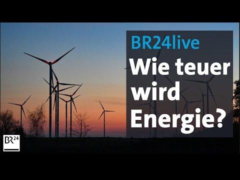BR24live: Preisschock: Wie teuer wird Heizen, Strom und Benzin? | Münchner Runde | BR24