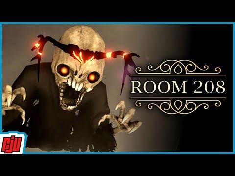 Room 208   Horror Puzzle Game   PC Gameplay Walkthrough