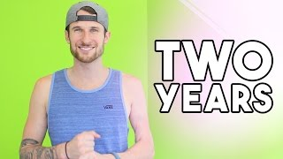 CELEBRATING TWO YEARS ON YOUTUBE - GIVEAWAY ANNOUNCEMENT