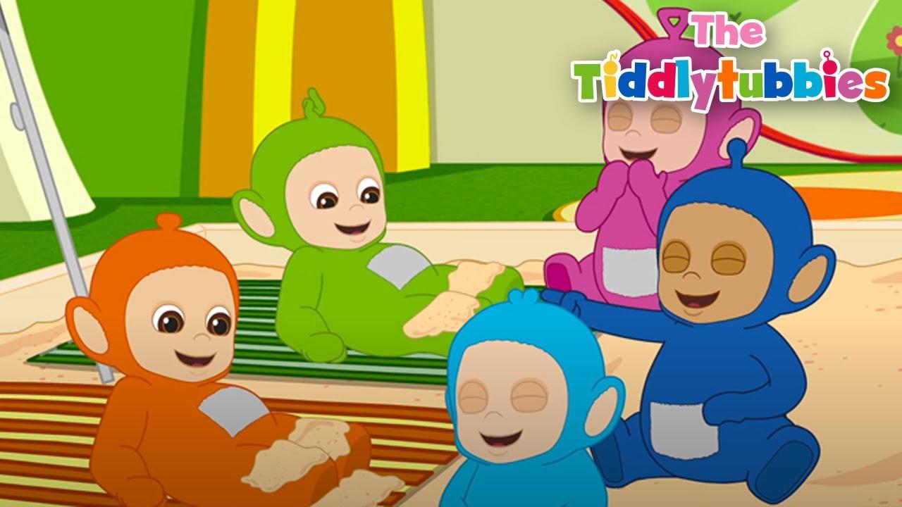 Tiddlytubbies Season 2! ★ Tiddlytubbies Sunbathing! ★ Tiddlytubbies Full Episodes