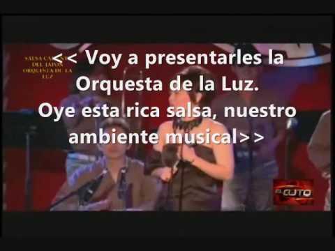 Orquesta de la Luz - Salsa caliente del Japon (karaoke completo c/coros)