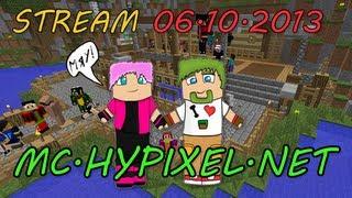 Стрим по Minecraft на сервере mc.hypixel.net [06.10.2013]
