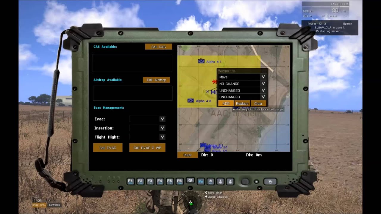 how to get radio commands in arma 32