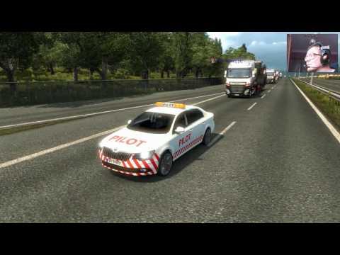 Euro Truck Simulator 2 #  104  Konwój Skodami Z MKJ Transport