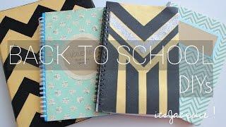 Back To School Notebook Binder Agenda DIY | ☛ itsJacquie !