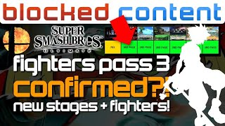 RUMOR: Fighters Pass 3 CONFIRMED Through STAGE SELECT?! FIGHTERS + DLC?! + Big Poll! - LEAK SPEAK!