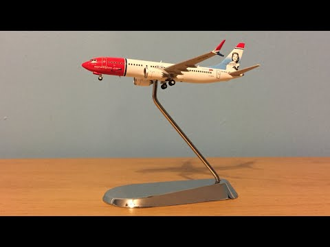 *600 SUBSCRIBERS SPECIAL* Gemin Jets Norwegian Air Shuttle 737 MAX 8 1/400 scale Review