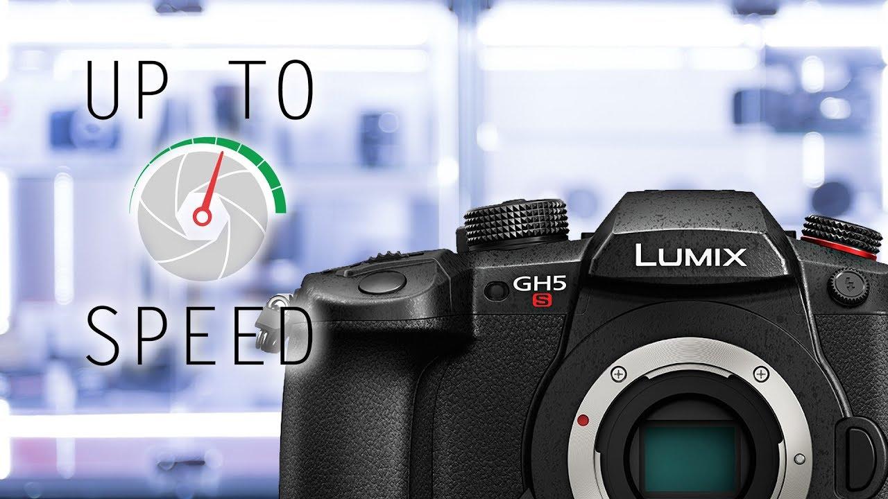 Panasonic Lumix GH5S Mirrorless Camera (body only)