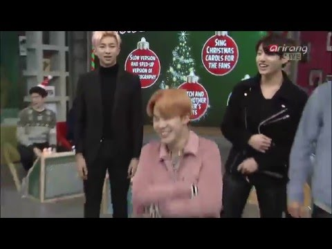 151222 BTS slow version and sped_up version of choreography(I NEED U+Dope)@After School Club Ep191