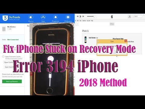 SOLVED - How to Fix error 3194 iTunes | iPad | iPhone | iPod | iTouch in Easy Steps. You see this er.
