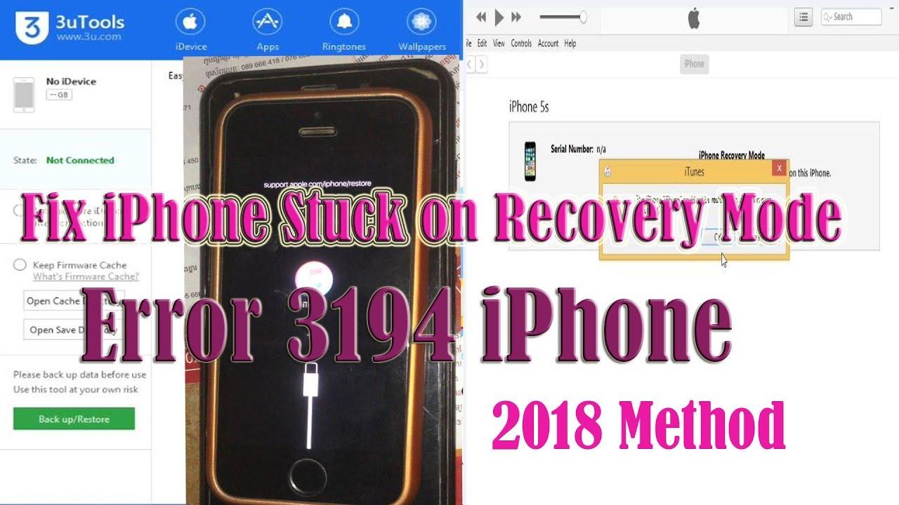 iphone 7 update error 3194
