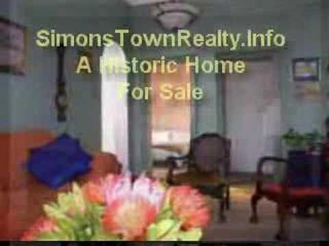 House For Sale In Simons Town South Africa R1.5 m +-$214 000