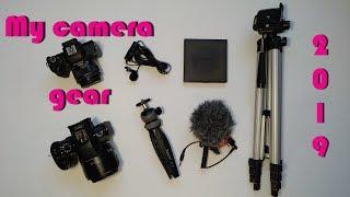 Что нужно для съемки видео на youtube. What's in My Camera Bag 2019.
