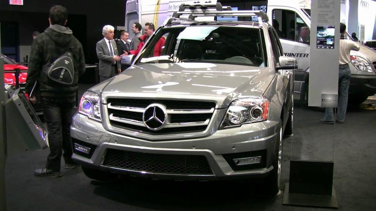 2012 Mercedes Benz Glk350 4matic Exterior And Interior At 2012