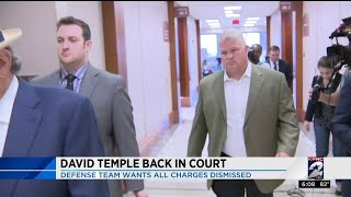 David Temple back in court