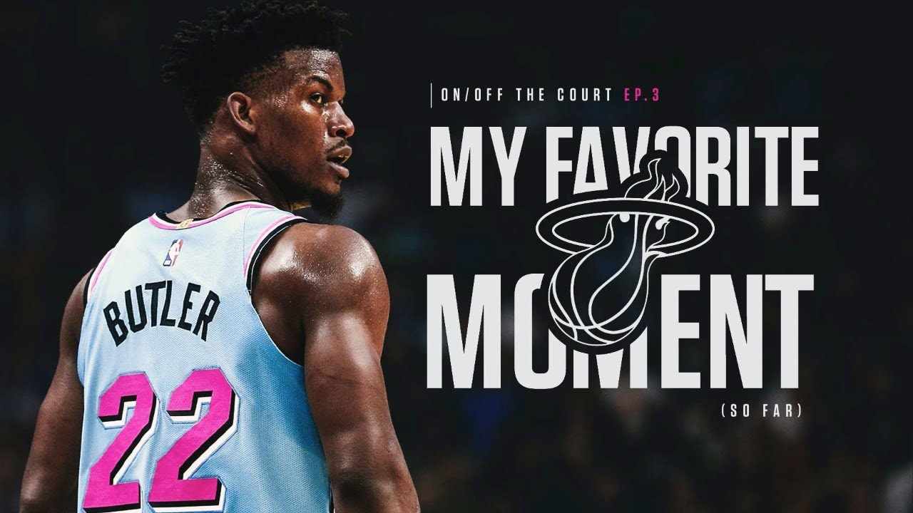 My favorite moment with the Heat so far ?| On and Off The Court Ep 3 | Jimmy Butler Q&A
