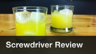 Screwdriver Recipe And Review By Garnishbar - Episode #4
