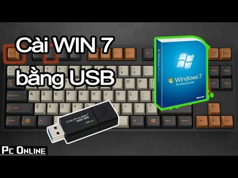 Hướng Dẫn Tự Cài WIN Cho Máy Tính Bằng USB