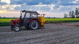 Opryski 2018, czyli Zetor 5211 & Pilmet R615 w kukurydzy