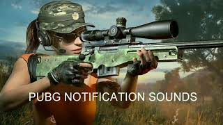 Gambar cover PUBG NOTIFICATION TONES WITH DOWNLOAD LINKS