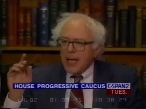 Bernie Sanders: We're Forming a Congressional Progressive Caucus to Fight GOP Extremists (1995)