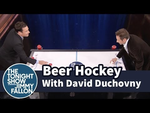 Beer Hockey with David Duchovny